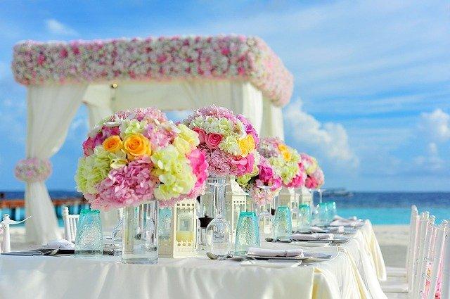 Les accessoires de décoration utilisés lors des mariages